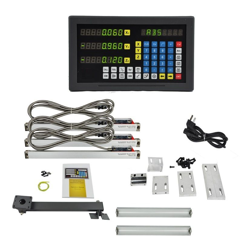 3 axis LED screen  multi-functions DRO set for milling machine