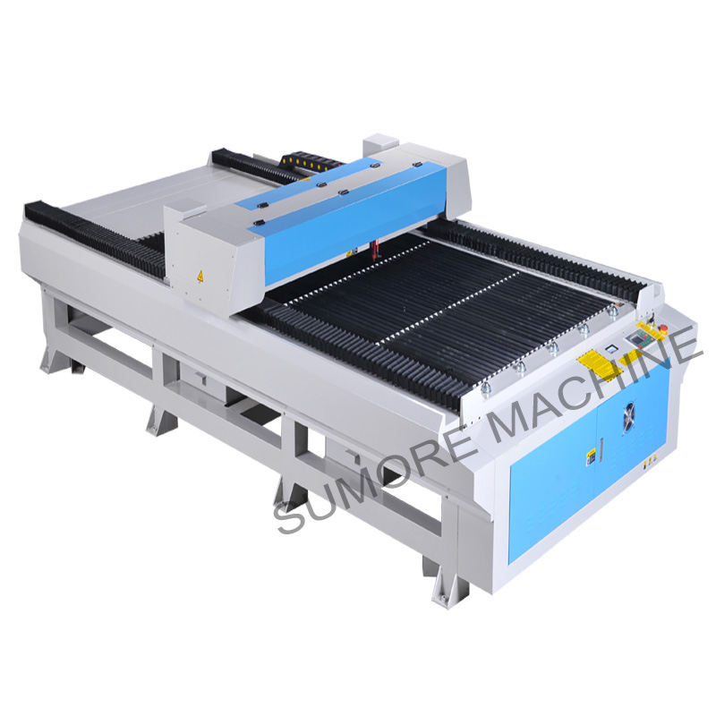 CNC CO2 laser cutting engraving machine with table size 1300x2500mm SP1325G