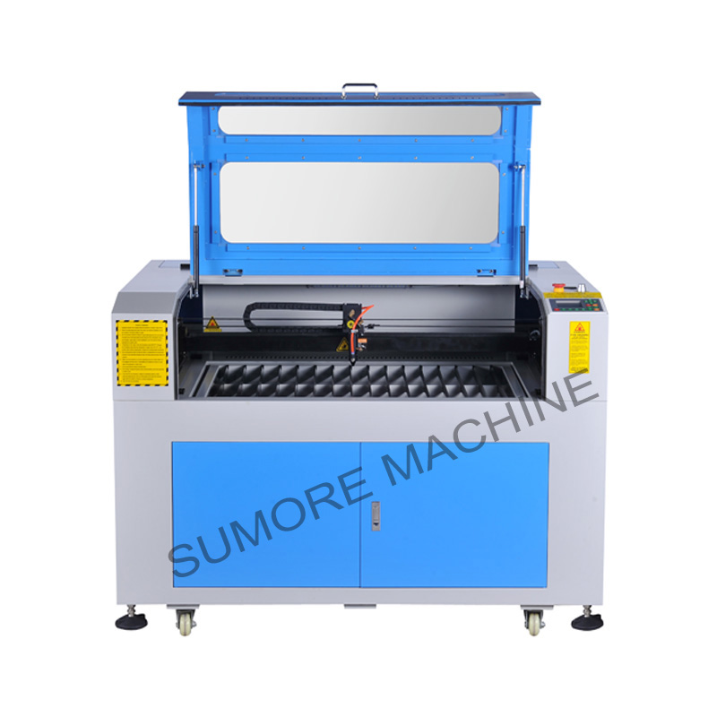 CNC CO2 laser cutting engraving machine with table size 900x600mm SP9060G