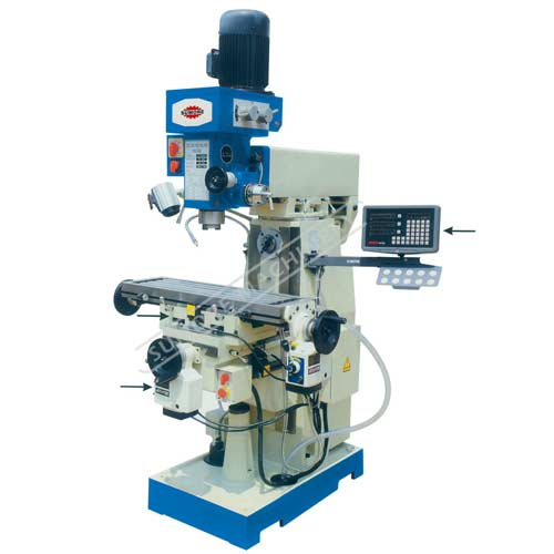 Good quality belt drive drilling milling machine SP2231/SP2232