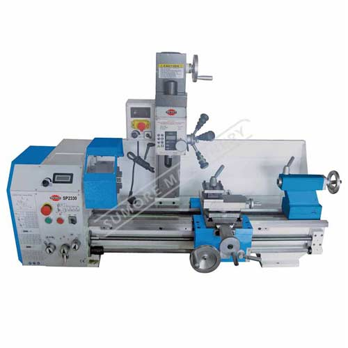 Lathe milling machine combo multipurpose lathe machine with CE certificate SP2330