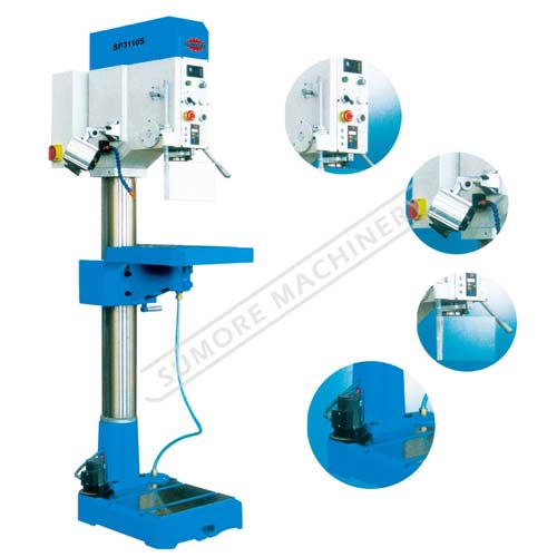 Metal cutting variable Speed Vertical Drilling Machine SP3110S