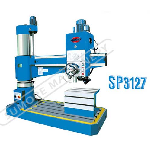 Precision cheap radial drilling machine for sale SP3127