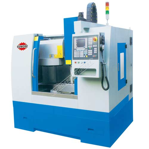SMC8550 CNC vertical machine center RS232 port linear