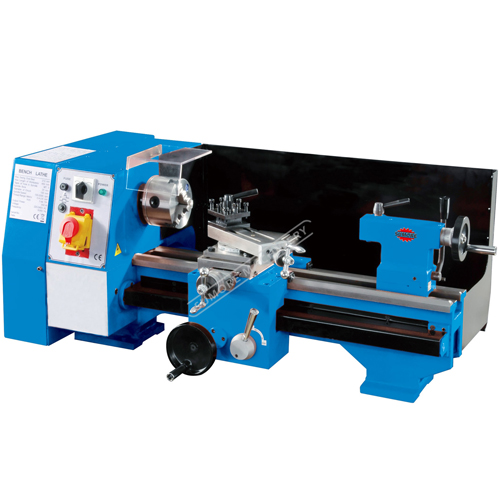 SP2104S metalworking bench lathe machine 550W with belt drive