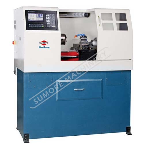 SP2128 industrial cnc lathe machine with mach3 controller system