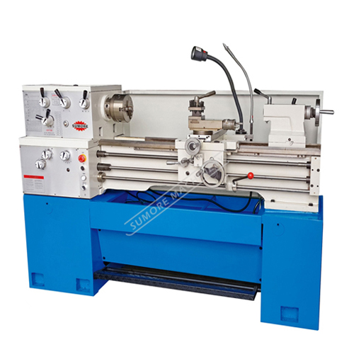 "SP2143 flat bed metal turning precision lathe machine 12"" belt drive"
