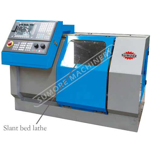 STC2120 cnc turning machine with slant bed