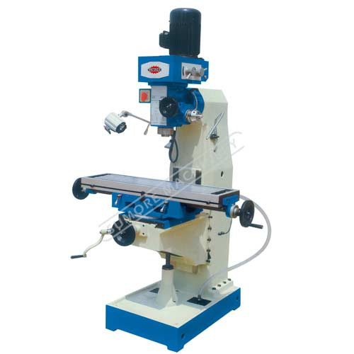 Vertical turret metal drilling Machine and Milling machine with Rotary Table SP2233/SP2234