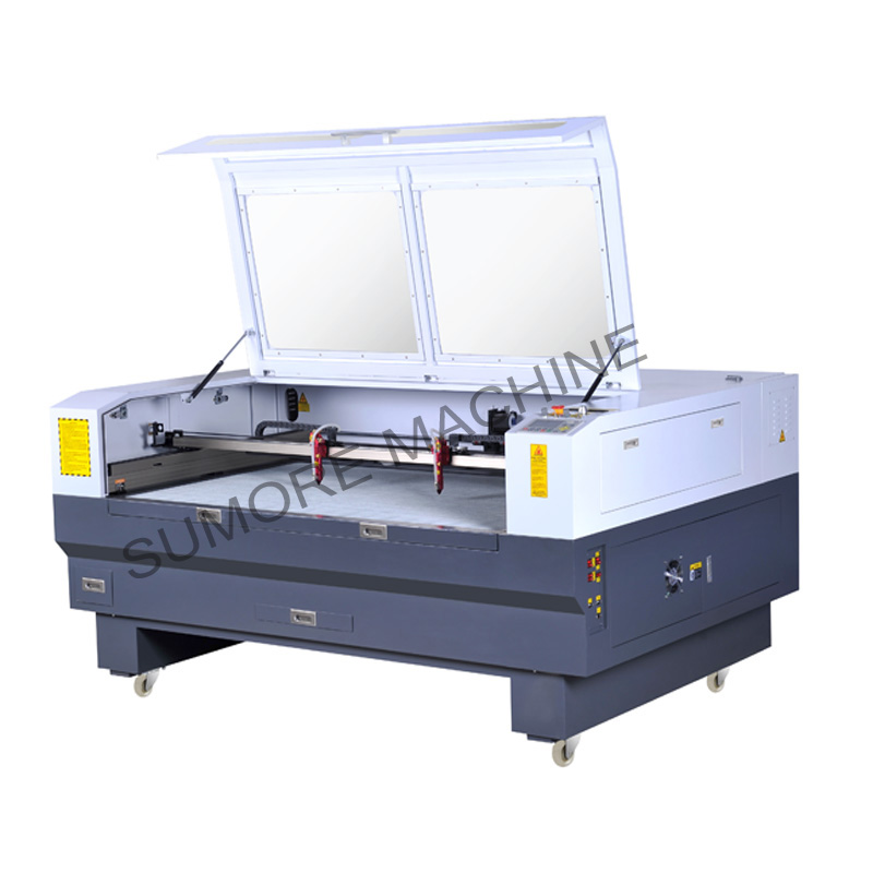 CNC CO2 laser cutting engraving machine with table size 1600x1000mm SP1610N